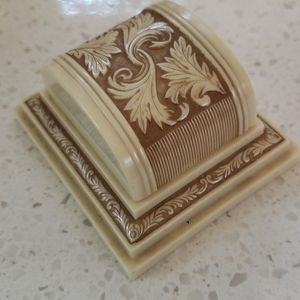 Vintage Antique Deco Ring Box celluloid display